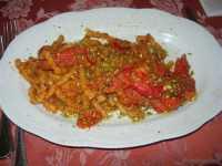 busiate con pistacchio, gambero e pachino - 24 maggio 2009  - Buseto palizzolo (5099 clic)