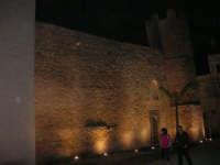 Castello dei Conti di Modica, esterno lato est - 21 giugno 2007  - Alcamo (839 clic)