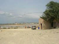 imbarcadero per l'isola di Mozia, saline Infersa e mulini a vento - 24 settembre 2007  - Marsala (1350 clic)