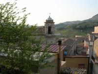 panorama e campanile della Badia (sconsacrata) - 23 aprile 2006   - Chiusa sclafani (1875 clic)