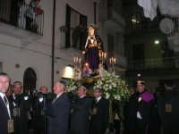 Venerdì Santo: processione del Cristo Morto e dell'Addolorata - via Galileo Galilei - 21 marzo 2008   - Alcamo (918 clic)