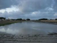 campi allagati, dopo la pioggia della notte precedente - 1 febbraio 2009   - Marsala (5199 clic)