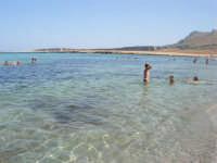 Golfo del Cofano - mare stupendo - 8 agosto 2008   - San vito lo capo (551 clic)