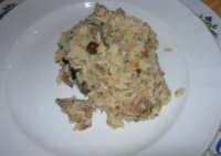 pranzo al Baglio Trinità: risotto selva nera con porcini (petti di caccia reale) - 22 aprile 2007    - Castelvetrano (3389 clic)
