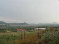 panorama: guardando verso Borgetto e Partinico; all'orizzonte il Monte Bonifato - 1 giugno 2007  - Giardinello (3650 clic)