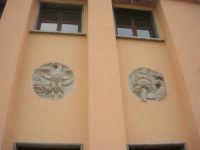 ex stazione: particolare parete esterna lato sud - 1 giugno 2008    - Segesta (941 clic)