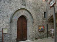 L'ingresso del Centro di Cultura Scientifica Ettore Majorana - 14 luglio 2005   - Erice (2773 clic)