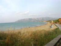 la spiaggia e panorama sul golfo di Castellammare, lato est - 1 giugno 2007  - Balestrate (1940 clic)