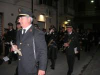 Venerdì Santo: processione del Cristo Morto e dell'Addolorata - via Galileo Galilei - Complesso Bandistico Città di Alcamo - 21 marzo 2008   - Alcamo (1047 clic)