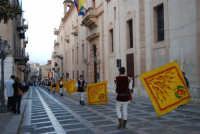 2° Corteo Storico di Santa Rita - Sbandieratori della Città di Caccamo - 17 maggio 2008  - Castellammare del golfo (499 clic)