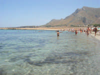 Golfo del Cofano - mare stupendo - 8 agosto 2008   - San vito lo capo (500 clic)