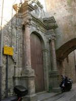 Chiesa di S. Pietro e Monastero delle Clarisse - sec. XIV - XIII - 14 luglio 2005   - Erice (1696 clic)