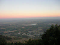 panorama sud - 6 luglio 2007  - Erice (1045 clic)