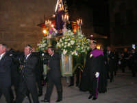 Venerdì Santo: processione del Cristo Morto e dell'Addolorata - piazza Ciullo - 21 marzo 2008   - Alcamo (829 clic)