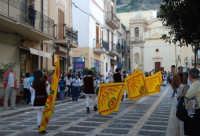 2° Corteo Storico di Santa Rita - Sbandieratori della Città di Caccamo - 17 maggio 2008  - Castellammare del golfo (524 clic)