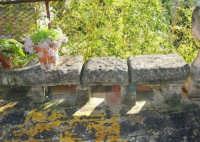 antica terrazza: particolare - 4 marzo 2007  - Bagheria (1576 clic)