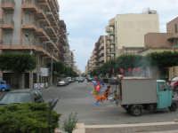 la via vista da Piazza Francesco Pizzo - 24 settembre 2007  - Marsala (1444 clic)