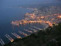 panorama serale dal Belvedere - 22 giugno 2007  - Castellammare del golfo (1304 clic)