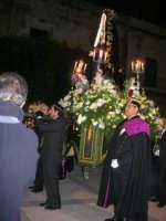 Venerdì Santo: processione del Cristo Morto e dell'Addolorata - piazza Ciullo - 21 marzo 2008   - Alcamo (1061 clic)