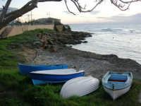 barche in secca - 4 gennaio 2007  - Torretta granitola (1257 clic)