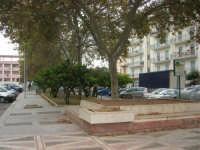 aiuola al centro della Piazza Francesco Pizzo - 24 settembre 2007  - Marsala (1556 clic)