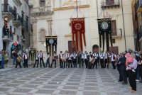 2° Corteo Storico di Santa Rita - Piazza Madonna delle Grazie - Stendardieri di Petralia La Suprana - 17 maggio 2008  - Castellammare del golfo (558 clic)
