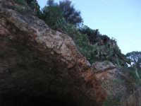 particolare della galleria - 1 gennaio 2009  - Riserva dello zingaro (2610 clic)