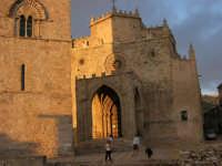Duomo (sec. XIV) e Torre Campanaria (sec. XIII) - 14 luglio 2005   - Erice (1366 clic)