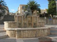 Piazza Fontana - la fontana - 9 novembre 2008   - Sant'anna di caltabellotta (2990 clic)