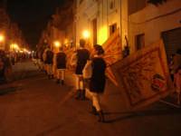 2° Corteo Storico di Santa Rita - Associazione Sbandieratori Città di Caccamo: esibizione dinanzi la Chiesa S. Antonio - 17 maggio 2008   - Castellammare del golfo (545 clic)