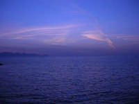 Golfo di Castellammare a sera - 31 maggio 2008  - Trappeto (1601 clic)
