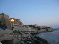case sul mare a sera - 31 maggio 2008  - Trappeto (2066 clic)