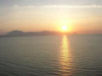 tramonto sul golfo di Castellammare - 1 giugno 2007   - Balestrate (1972 clic)
