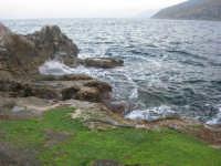 gli scogli ed il mare alla tonnara - 24 febbraio 2008   - San vito lo capo (870 clic)