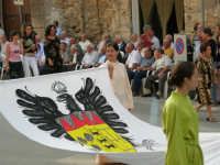 Festeggiamenti in onore di Maria Santissima dei Miracoli - Corso VI Aprile: corteo storico trionfale (fra Medioevo ed età Barocca) - 20 giugno 2005  - Alcamo (1339 clic)