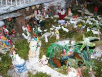 Il Presepe di Giacomo Pecoraro (particolare)- 2 dicembre 2005  - Alcamo (1667 clic)