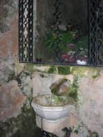sorgente dell'acqua miracolosa - Santuario della Madonna dei Miracoli - 6 settembre 2008   - Alcamo (842 clic)