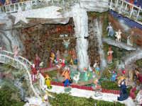 Il Presepe di Giacomo Pecoraro (particolare: grotta della Natività)- 2 dicembre 2005  - Alcamo (1841 clic)