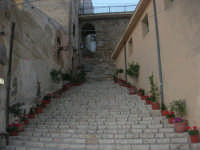 al porto: la scalinata - 8 maggio 2007  - Castellammare del golfo (754 clic)