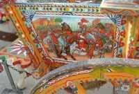 folclore: particolare di un carretto siciliano - 22 maggio 2009   - Erice (2485 clic)