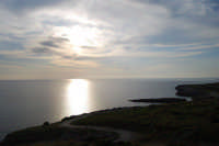 Macari - tramonto all'Isulidda - 10 maggio 2009   - San vito lo capo (1584 clic)