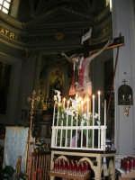 interno della Chiesa Maria SS. delle Grazie: Gesù sulla croce - 3 settembre 2008   - Torretta (3582 clic)