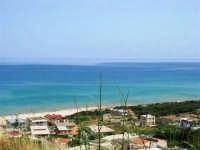 panorama del golfo di Castellammare da c/da Canalotto - 18 giugno 2006   - Alcamo marina (1594 clic)