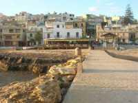 il paese visto dalla passeggiata sul mare - 25 ottobre 2009   - Marinella di selinunte (1522 clic)