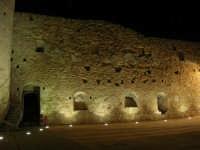 Castello arabo normanno - particolare del cortile interno - 2 gennaio 2009   - Salemi (2518 clic)