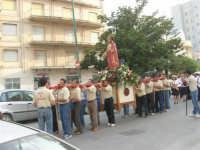 Festa del Sacro Cuore - viale Europa: la processione  - 15 giugno 2007  - Alcamo (1196 clic)