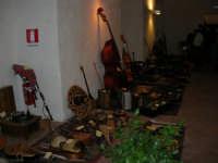 Festeggiamenti in onore di Maria Santissima dei Miracoli - All'interno del Castello dei Conti di Modica: mostra Strumenti musicali multietnici a cura di Fausto Cannone - 21 giugno 2005  - Alcamo (1522 clic)