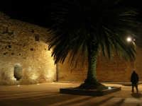 Castello arabo normanno - particolare del cortile interno - 2 gennaio 2009   - Salemi (2592 clic)