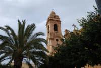 campanile con orologio della Chiesa Madre Maria SS. delle Grazie - 23 marzo 2008   - Terrasini (1460 clic)