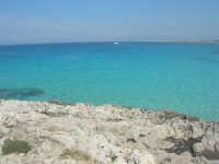 sulla via Faro - un mare stupendo - 10 maggio 2009    - San vito lo capo (1675 clic)